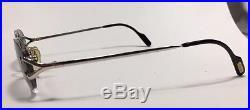 100% Authentic Cartier Sunglass Vintage Collection Platinum Classic C Eyeglasses