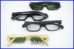 10 x Brille Brillengestell Sonnenbrille Konvolut Vintage Selecta France 50s NOS