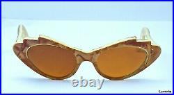 1950's Cat Eye Sunglasses Vintage EYEGLASSES France New old stock NOS Franky