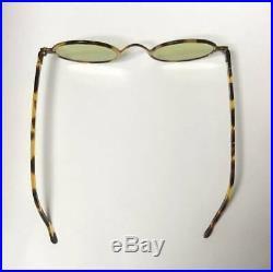 1950s Tortoiseshell Coreless Frame France Round Glasses Sunglasses Vintage