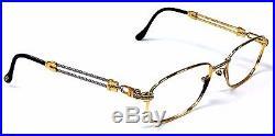 1980s Vintage Fred Lunettes Artimon Gold Plated Eye Glasses (571563/53-19-140)