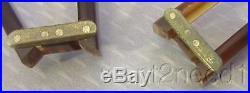 60s vtg PIERRE CARDIN FOLDING EYEGLASSES round torty hinged unisex frames