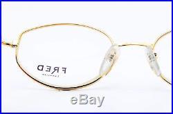 80s FRED Eye Frame MALDIVES Bicol. Rose 005 Sailor Deluxe 50-19 135 France NOS