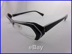 ALAIN MIKLI Eyeglsses frame. Black Style Eyeglasses Mod. A0474 Hand Made France
