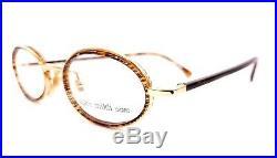 ALAIN MIKLI Paris Brille 1643-03145 Vintage 90s Oval Eyeglass Frame Made France