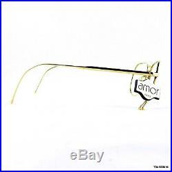 AMOR FRAME FRANCE occhiali da vista 6660 VINTAGE 50's eyeglasses gold filled