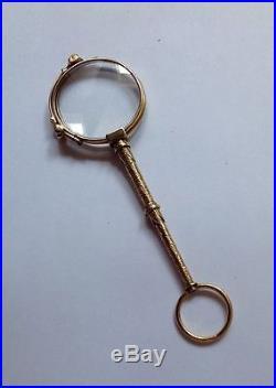 Antique Gold Lorgnettes/opera Glasses