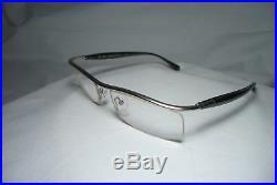 Alain Garighian eyeglasses half rim Platinum plated Argon 45 oval men's women's
