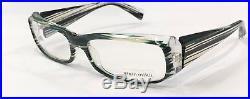 Alain Mikli AL0322 0108 Eyeglasses Glitter Green Crystal Clear Vintage 55mm