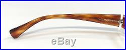 Alain Mikli AL0779 0028 Eyeglasses Beige Havana Brown Frame Vintage 55mm