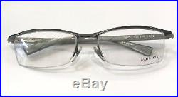 Alain Mikli AL0888 0002 Eyeglasses Gunmetal Light Grey Frame Vintage 56mm