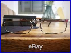 Alain Mikli Eyeglasses Model AM. 86 Color GUN METAL NOS Super Rare