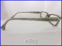 Alain Mikli Eyeglsses frame. Clear & Gray Hand Made frame Mod. A0130 Vintage