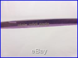 Alain Mikli Fashion Eyeglsses frame. Nice Purple Look Mod. A0213