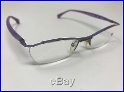 Alain Mikli Paris Eyeglasses Frame VTG PURPLE A0022-17 Handmade France BS44