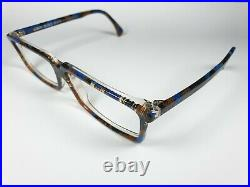 Alain Mikli Paris Glasses 700 395 Vintage Angular Eyeglass Frame Colorful