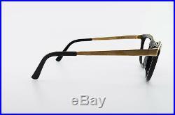 Alain Mikli Paris Glasses AM88 634 101 Vintage 80s Eye Frame Gold Cat-Eye NOS