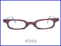 Anne Et Valentin NEW Vintage ABAKA Acetate Red Eyeglasses Frames 45-16 135