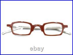 Anne Et Valentin NEW Vintage COX 0113 Red Gray Eyeglasses Frames France Women