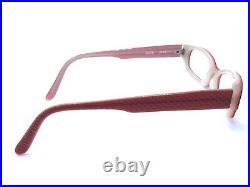 Anne Et Valentin NEW Vintage ZOTE Acetate Pink Red Eyeglasses Frames 50-14 135