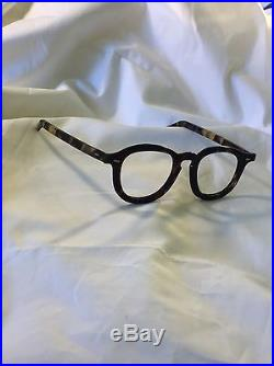 Antique Real Handmade Tortoiseshell Natural Eyeglasses Frames Spectacles France