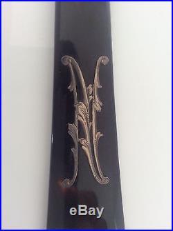Antique TISSOT Paris French Lorgnettes Opera Glasses in Box Art Nouveau Silver N