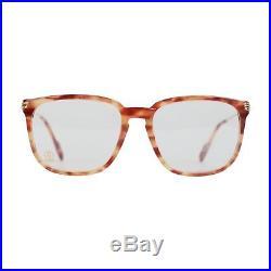 Authentic CARTIER VINTAGE Tan Tortoise Eyeglasses LUMEN Frame