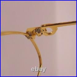 Authentic CARTIER Vendome Laque Vintage Santos Eyeglasses / Sunglasses 80's