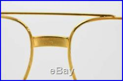 Authentic Cartier Eyeglass Frame Vendome Gold X Bordeaux (NO LENSES) 1201716