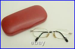 Authentic Cartier Orfy Trinity SP Eyeglasses 48 21 135 Vintage Glasses Frames