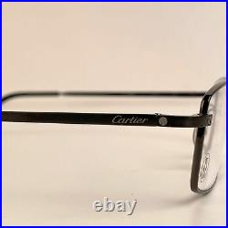 Authentic Cartier Paris Mint Titanium T-Eye Eyeglasses T8100806 54-18 140mm