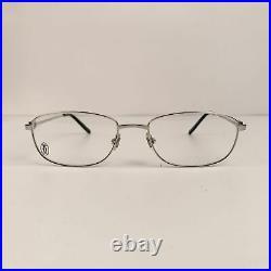 Authentic Cartier Paris Mint Unisex C Decor Eyeglasses T8100882 54-18 140mm