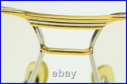 Authentic Cartier Vintage Eyeglasses Tank Platine Louis 62 14 140 GP Rx Glasses