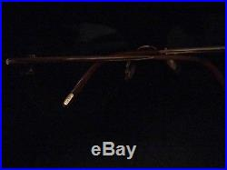 Authentic Vintage Cartier Gold Rimless Eyeglass Frames
