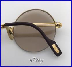 Authentic Vintage Cartier Mayfair Sunglasses Eyeglasses 1980's