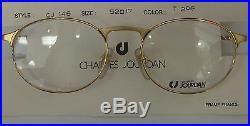 Authentic Vintage Charles Jourdan Gold Frame Eyeglasses Made In France