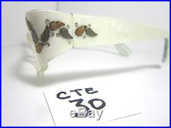 Authentic Vintage Small Fit 1950s/60s Cat Eye Eyeglass Frame White (CTE-30)