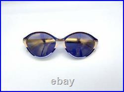 BALENCIAGA PARIS mod. 2727 vintage cateye Sunglasses Made in France 90S NOS