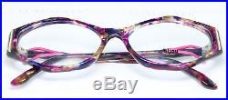 BIJOU Artful Unique Vintage Eyeglasses Lunettes Gafas Multi-Color 110-005 Bril