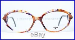 BIJOU Artful Unique Vintage Eyeglasses Lunettes Gafas Multi-Color 113-773 Bril