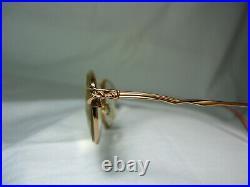 Balmain, eyeglasses, gold plated, Cat's Eye, oval frames, women's, super-vintage