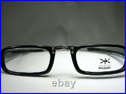 Beausoleil eyeglasses asymmetrical square oval frames men's women's vintage NOS