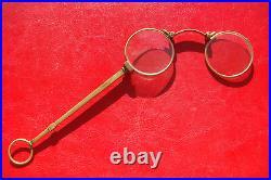 Beautiful Antique XIX CENTURY France bronze Spectacles Lorgnettes