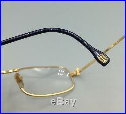 Boucheron Paris Lunettes vintage occhiale gold filled eyewear made in France