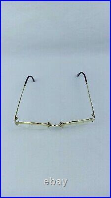 Boucheron Sunglasses / Eyeglasses Vintage 22573 02 02 France Heavy Gold Frame