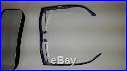 Brand NEW Vintage Alain Mikli 5616 Col1056 Blue Eyeglasses (Hand made in France)