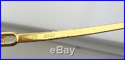Brand New Authentic Vintage FRED Rimless Eyeglasses Joyau Yellow Gold F2-50 135