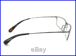 Bugatti 353 24L Gunmetal Titanium Eyeglasses Vintage 54-19 145 France