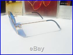 Cartier Louis Vendome Santos Vintage Sunglasses Lunettes Sonnenbrille Eyeglasses