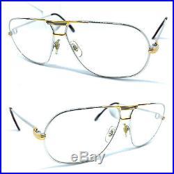 CARTIER TANK Vintage Eyeglasses / Sunglasses with BOX! Santos Vendome 20420